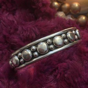 .925 SS Vintage Cuff Bracelet